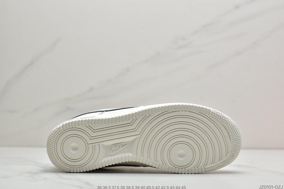 运动板鞋, 板鞋, 女鞋, White/Metallic Sliver, Nike Air Force 1, Nike Air