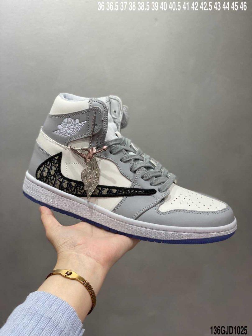 迪奥联名, 联名, 篮球鞋, Jordan, Dior x Air Jordan 1, Dior, Air Jordan 1, Air Jordan