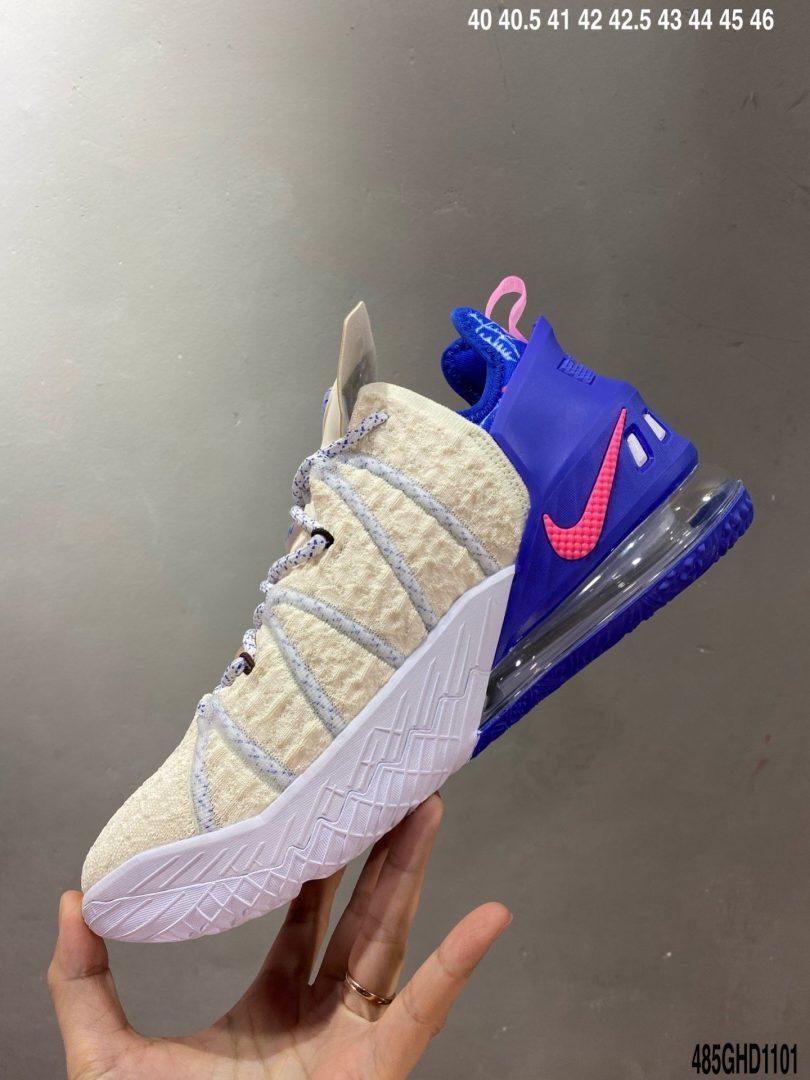 鸳鸯, 高帮, 勒布朗·詹姆斯, Nike Lebron China XVIII, Empire Jade