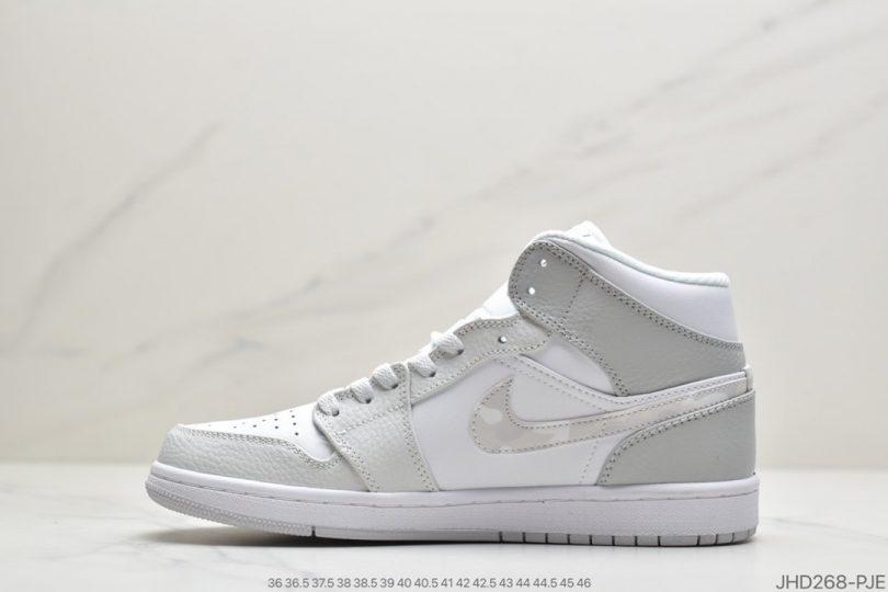 联名, White Camo, Swoosh, Jordan, Air Jordan 1, Air Jordan