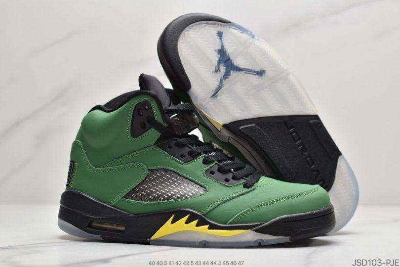 "鸭子俄勒冈红3M鞋舌, 联名, Oregon Ducks, OFF-WHITE x, Nike Air, Jumpman, Air Jordan 5 SE"" Oregon Ducks"", Air Jordan 5, Air Jordan"