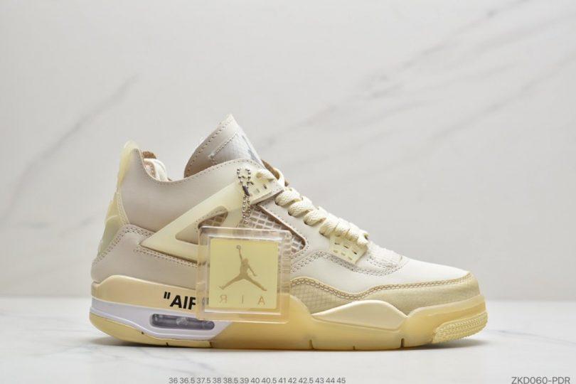 联名, OFF-WHITE x, Jordan, Air Jordan 4, Air Jordan
