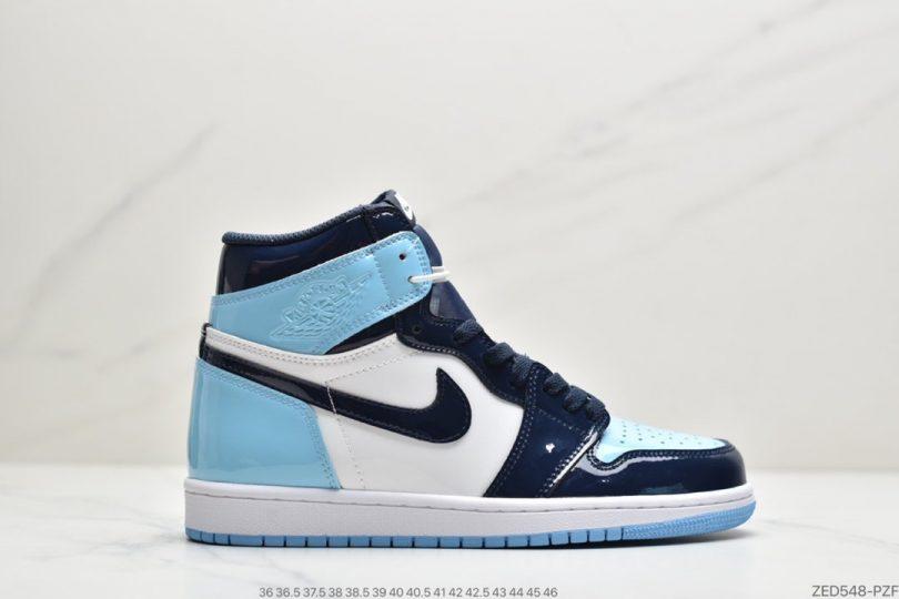 高帮篮球鞋, 高帮, 篮球鞋, 北卡蓝, Jordan, Air Jordan 1, Air Jordan
