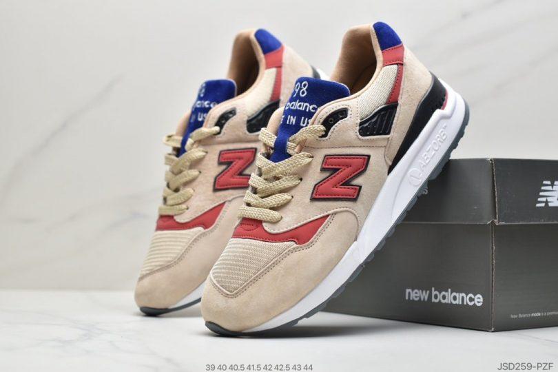 跑鞋, 美产, 新百伦M998, 新百伦, 复古慢跑鞋, ENCAP, ABZORB