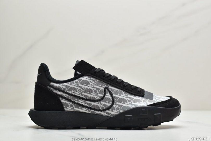 迪奥联名, 运动鞋, 跑步鞋, 华夫, Swoosh, Racer, Nike Waffle Racer 2X, Dior