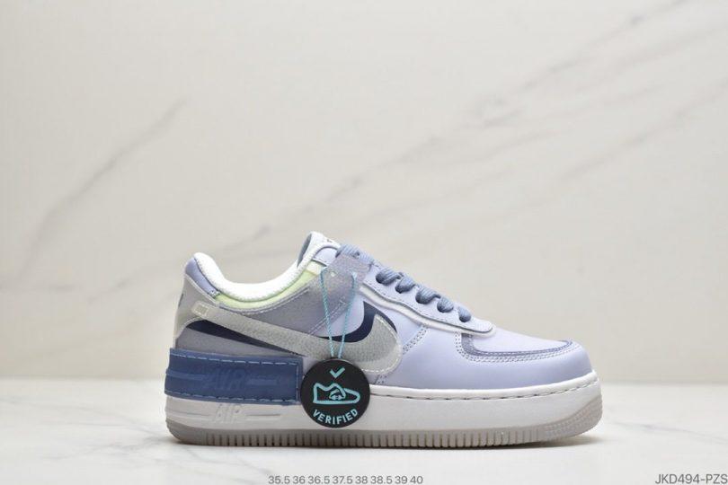 马卡龙, 板鞋, 拼接马卡龙, NIKE, EVA, Air Force 1 Shadow, Air Force 1