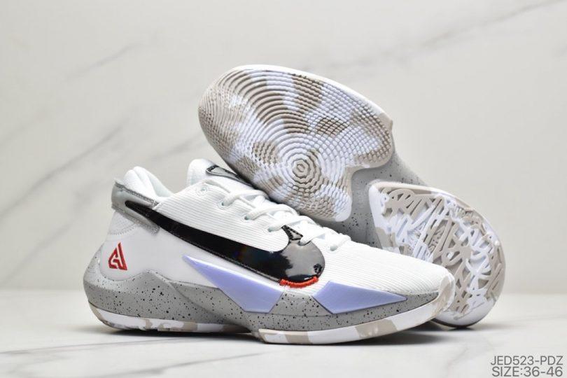 篮球鞋, 字母哥, Zoom, Nike Zoom Freak 2, Black