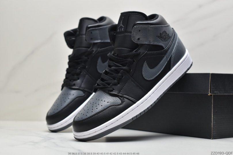 篮球鞋, 影子灰, Jordan, Air Jordan 1 Mid, Air Jordan 1, Air Jordan