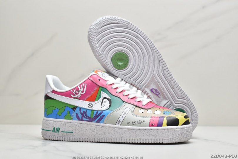 联名, 空军一号, 涂鸦, 板鞋
