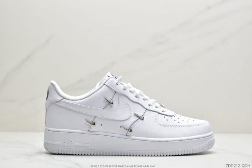 联名, 空军一号, 板鞋, 休闲板鞋, Nike Air Force 1, Nike Air, All white, Air Force 1'07, Air Force 1