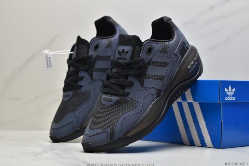 运动跑鞋, 跑鞋, 爆米花, ZX Alkyne W, Boost, Adidas