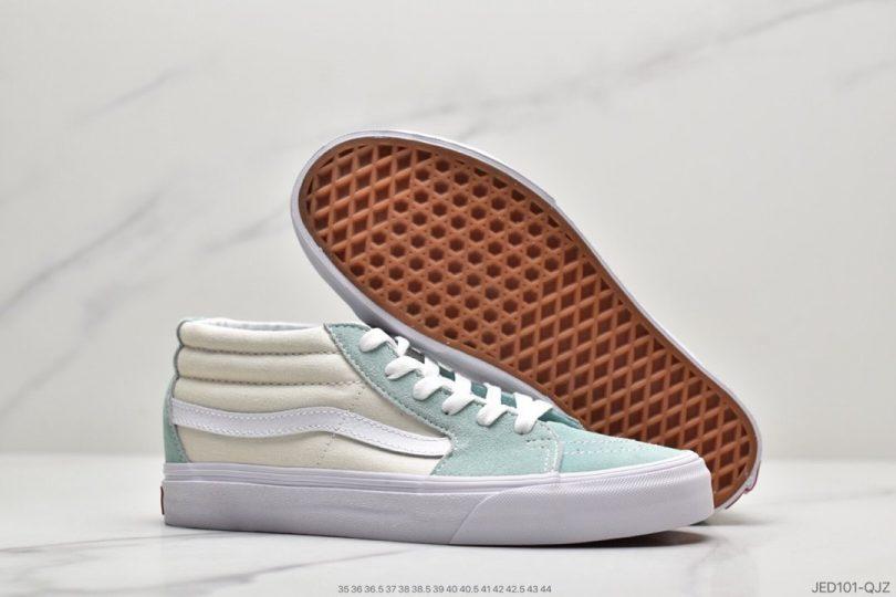 板鞋, 女鞋, 休闲板鞋, Vans, Sk8-Mid