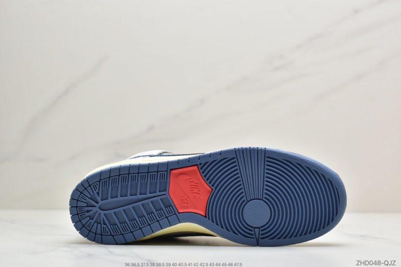 高帮板鞋, 高帮, 迷失海洋, 联名, 板鞋, Swoosh, Nike SB, Nike Dunk, Lost at Sea, Dunk