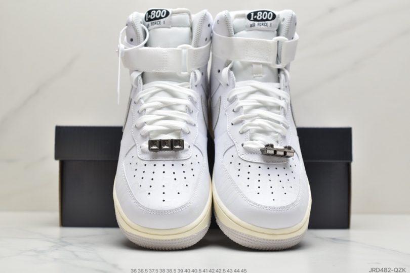 高帮, 运动板鞋, 涂鸦, 做旧, Toll Free, Premium, Nike Air Force 1, Nike Air, 3M反光