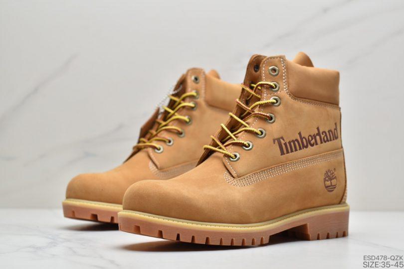 高帮, 马丁靴, 小麦色, Timberland