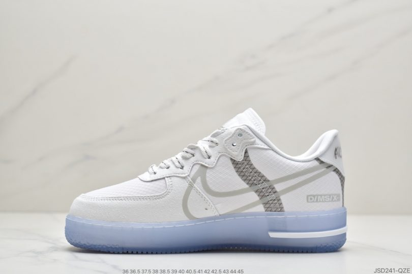 空军一号, 板鞋, Swoosh, React, Light Bone, Air Force 1, 3M反光