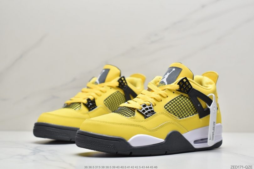 篮球鞋, 文化篮球鞋, Orange Metallic, Orange, Jordan, AJ4, Air Jordan 4, Air Jordan