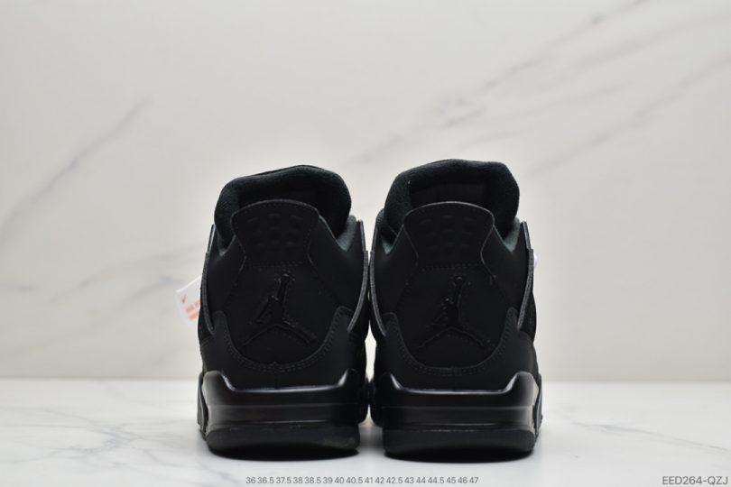 篮球鞋, 实战篮球鞋, Jordan, Black Cat, Black, Air Jordan 4, Air Jordan
