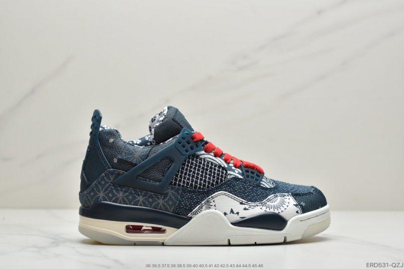 鸳鸯, 文化篮球鞋, Sashiko, Nike Air, Jordan, Dunk, AJ4, Air Jordan 4, Air Jordan