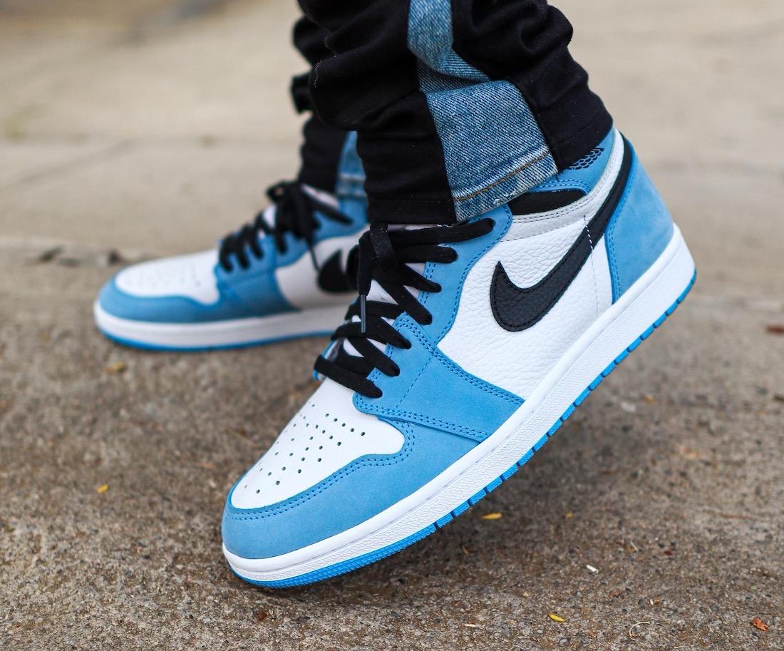 运动鞋, zsneakerheadz, University Blue, Swoosh, Jordan Brand, Jordan, Black