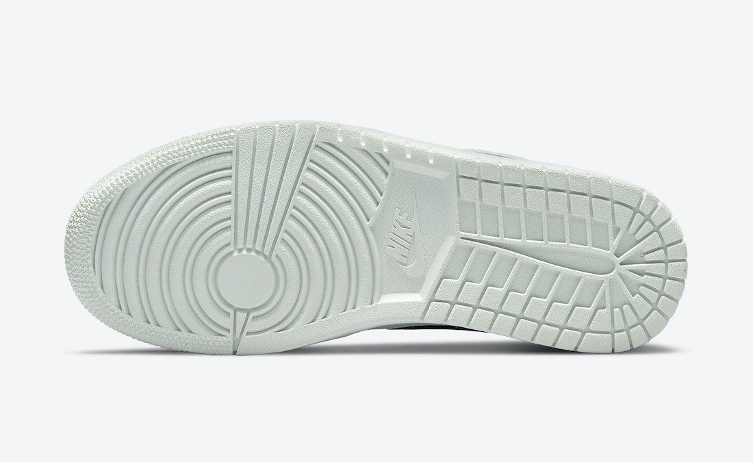 帆布鞋, Swoosh, Jordan, Black, BARELY GREEN, Air Jordan 1 Mid, Air Jordan 1 Low, Air Jordan 1, Air Jordan