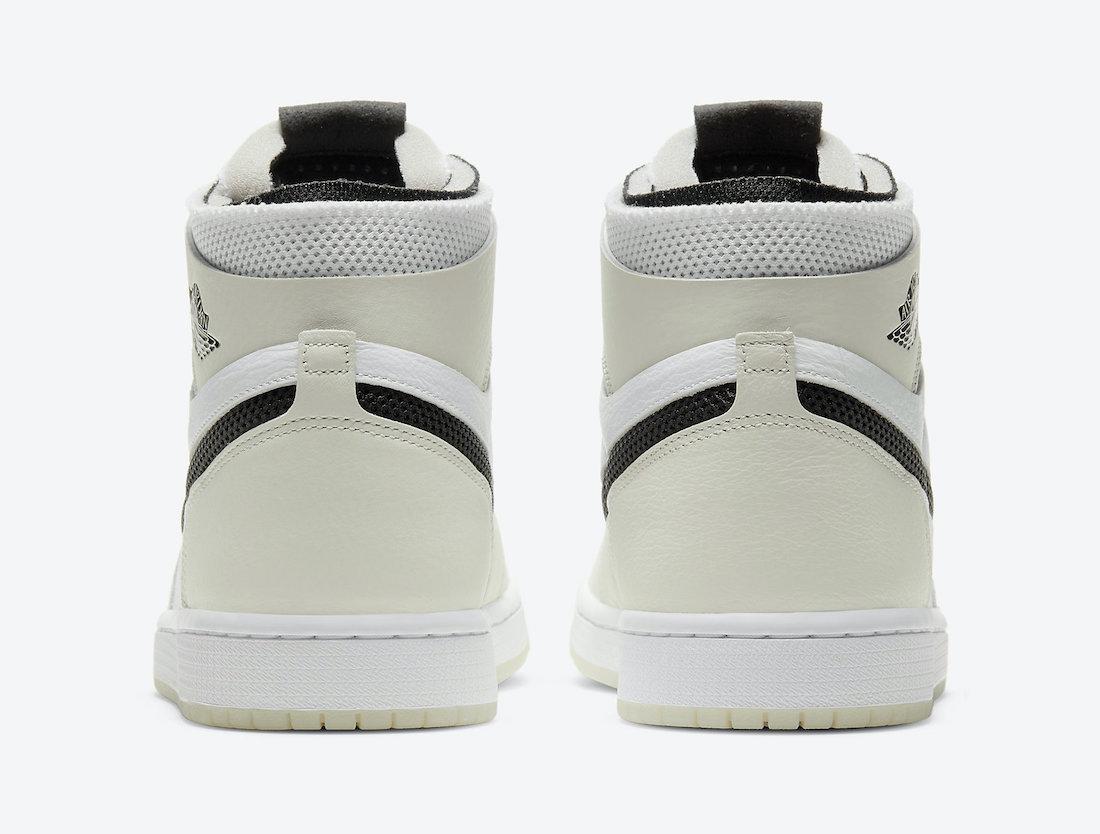 Zoom Air, Swoosh, Summit White, Light Bone, Jordan Brand, Jordan, Air Jordan 1 Zoom Comfort, Air Jordan 1 Zoom, Air Jordan 1, Air Jordan