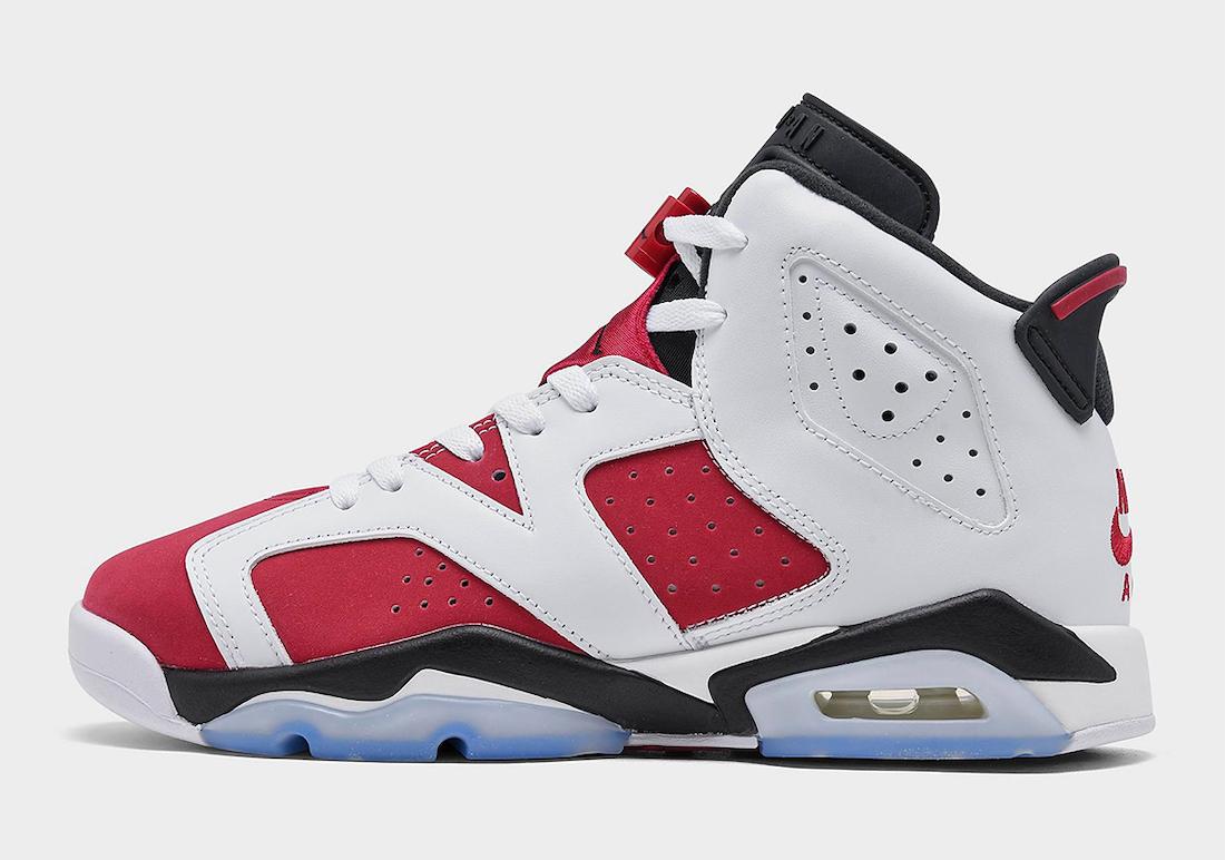 """Nike Air, Jordan Brand, Jordan, Carmine, Air Jordan 6"""" Carmine"""", Air Jordan 6, Air Jordan"""