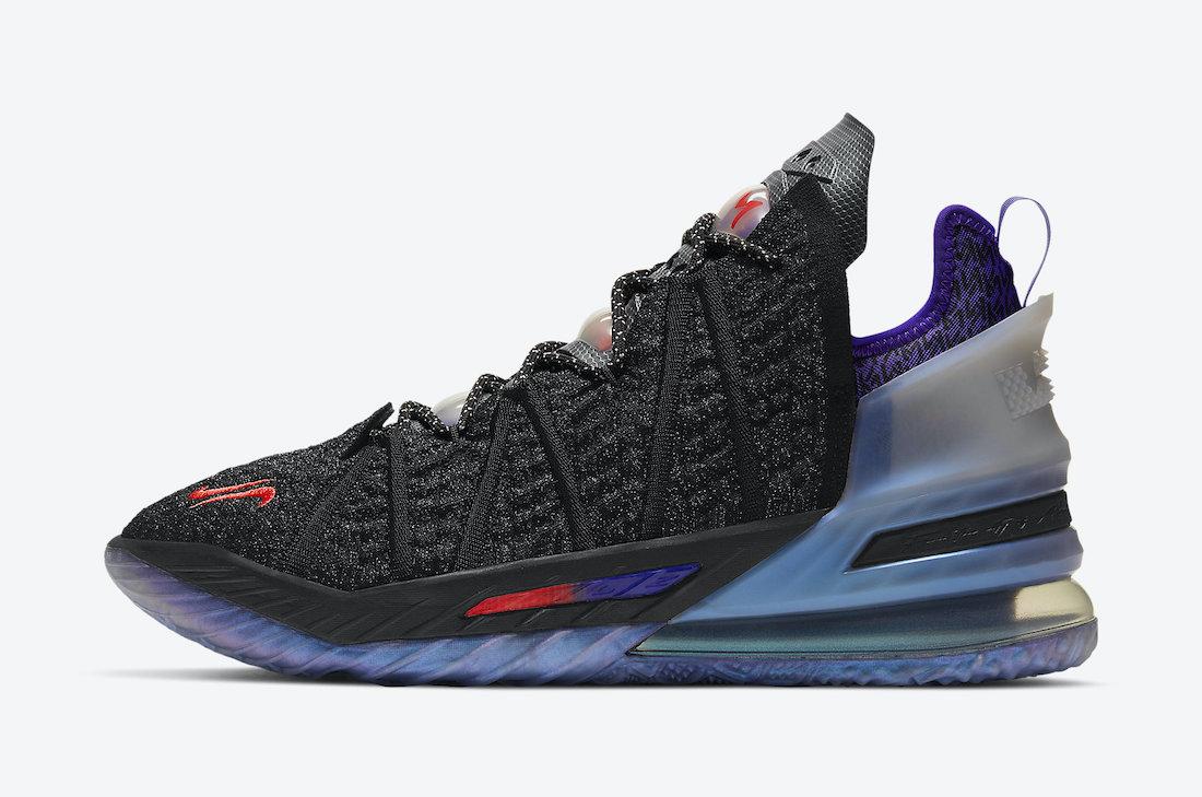 勒布朗·詹姆斯, Swoosh, Nike LeBron 18, LeBron 18, James, Basket