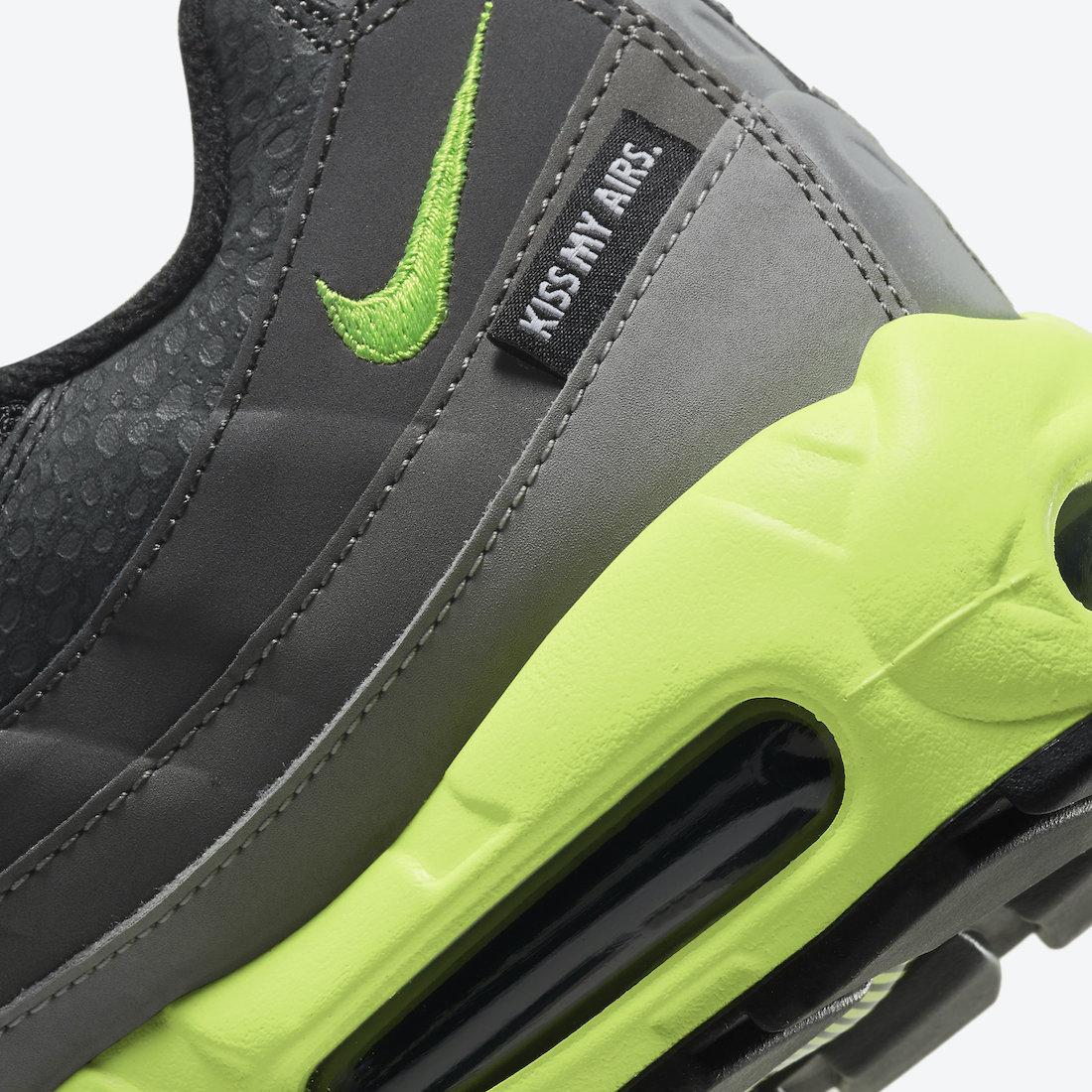 Nike Air Max 95, Nike Air Max, Black, Air Max 95, Air Max, 3M反光