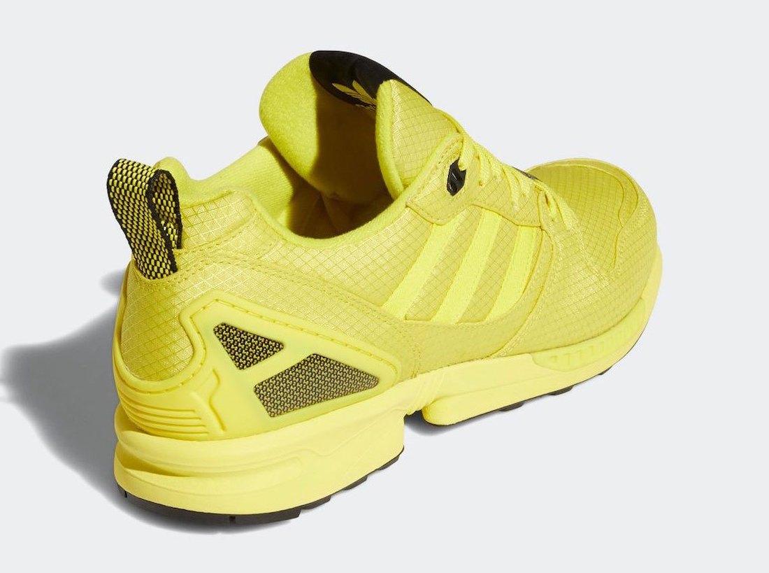 "adidas ZX 5000亮相""亮黄色"""