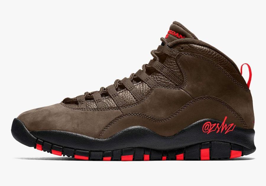zsneakerheadz, Jordan Brand, Jordan, Dark Mocha, Black, Air Jordan 10, Air Jordan 1, Air Jordan