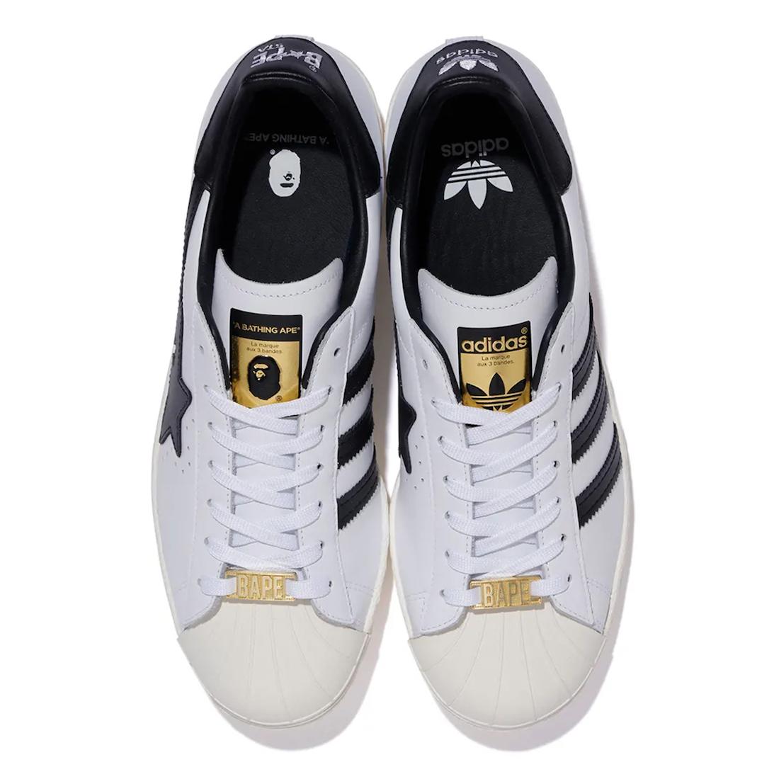 联名, White Black, Superstar, Originals, Black, adidas Superstar, Adidas