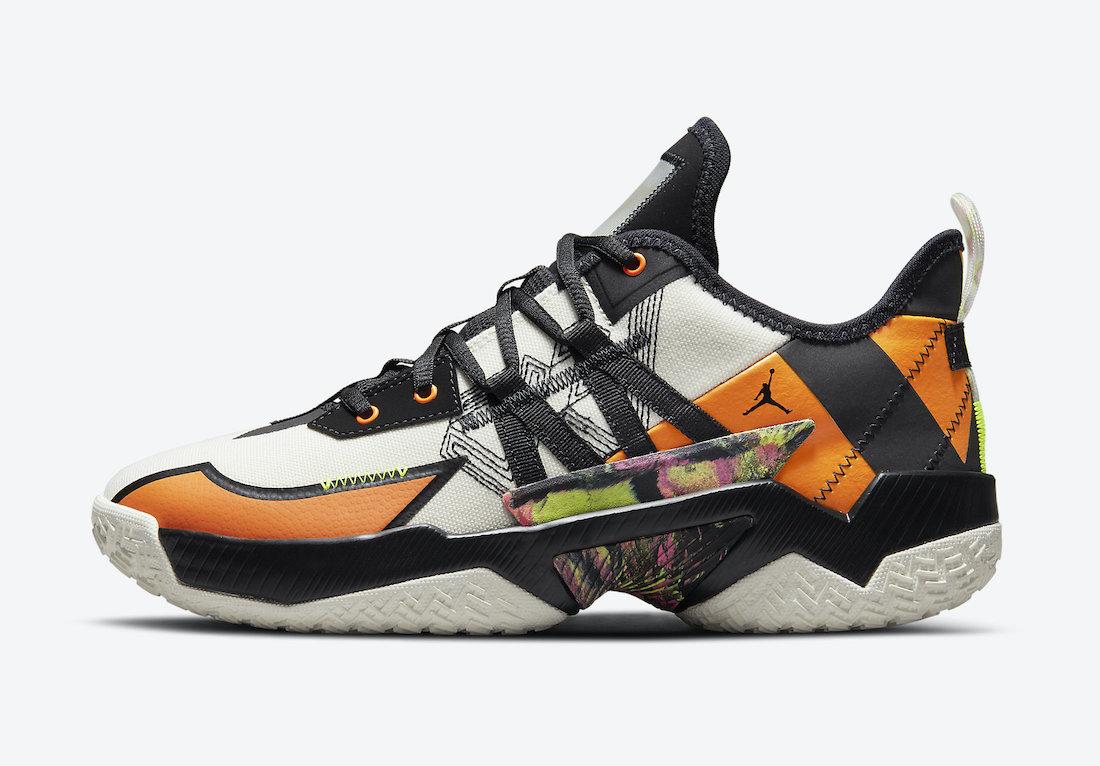 帆布鞋, One Take, Jordan Westbrook One, Jordan Westbrook, Jordan, Air Jordan 1, Air Jordan