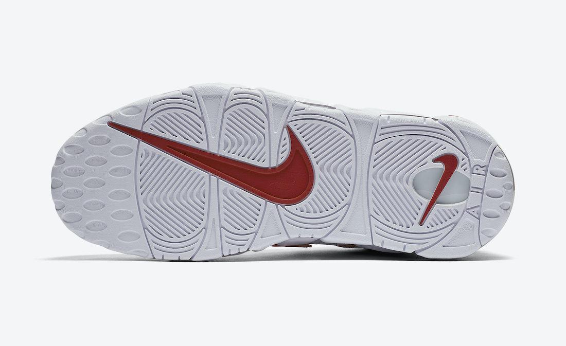 Varsity Red, Swoosh, Nike Air More Uptempo, Nike Air