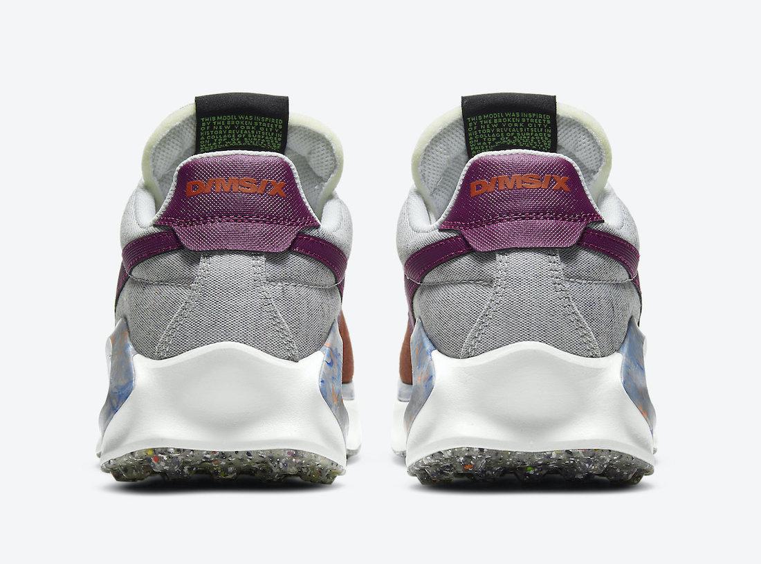 帆布鞋, 华夫, Swoosh, Orange, Nike D / MS / X Waffle