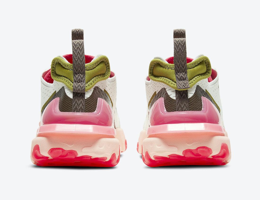 Swoosh, Summit White, React, Nike React