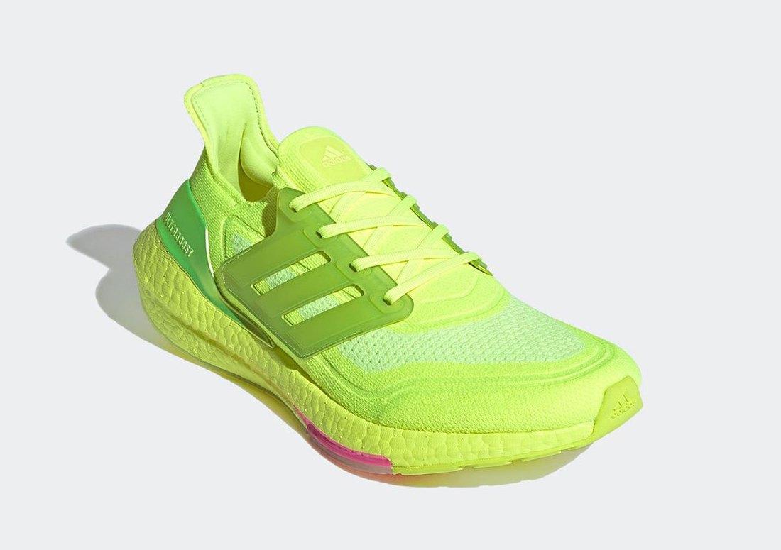 Ultra Boost 20, Ultra Boost, Solar Yellow, Originals, Continental, Boost, adidas Ultra Boost 2021, Adidas