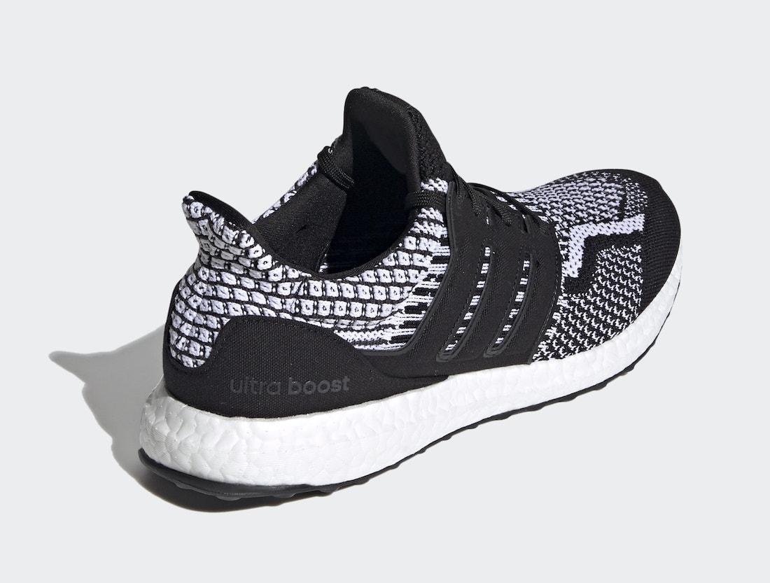 Ultra Boost, Primeknit鞋面, Primeknit, Originals, Cloud White, Boost, Black, adidas Ultra Boost 5.0, adidas Originals