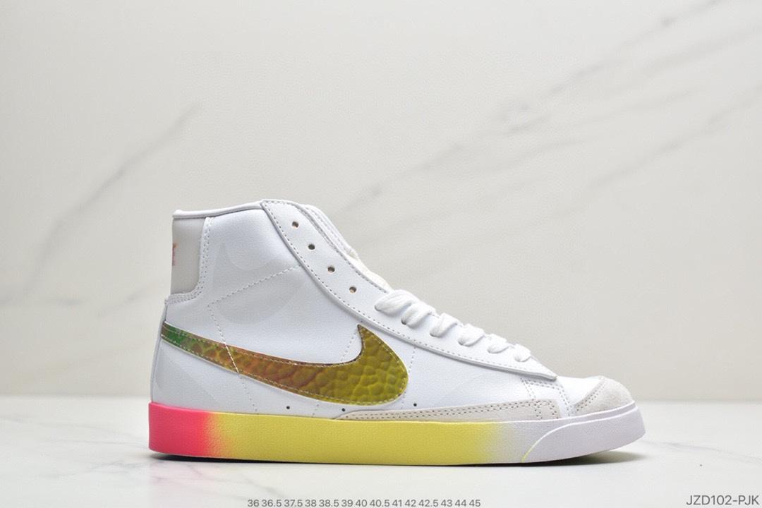 高帮, 镭射, 运动板鞋, 板鞋, 开拓者, Vintage WE, Vintage, Blazer Mid, Blazer