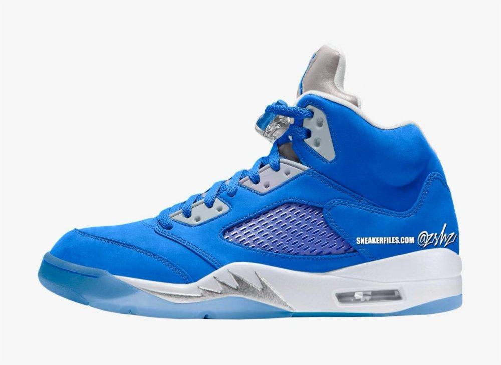"""女鞋, zsneakerheadz, Jordan 5, Jordan, Air Jordan 5 WMNS"""" Bluebird"""", Air Jordan 5, Air Jordan"""