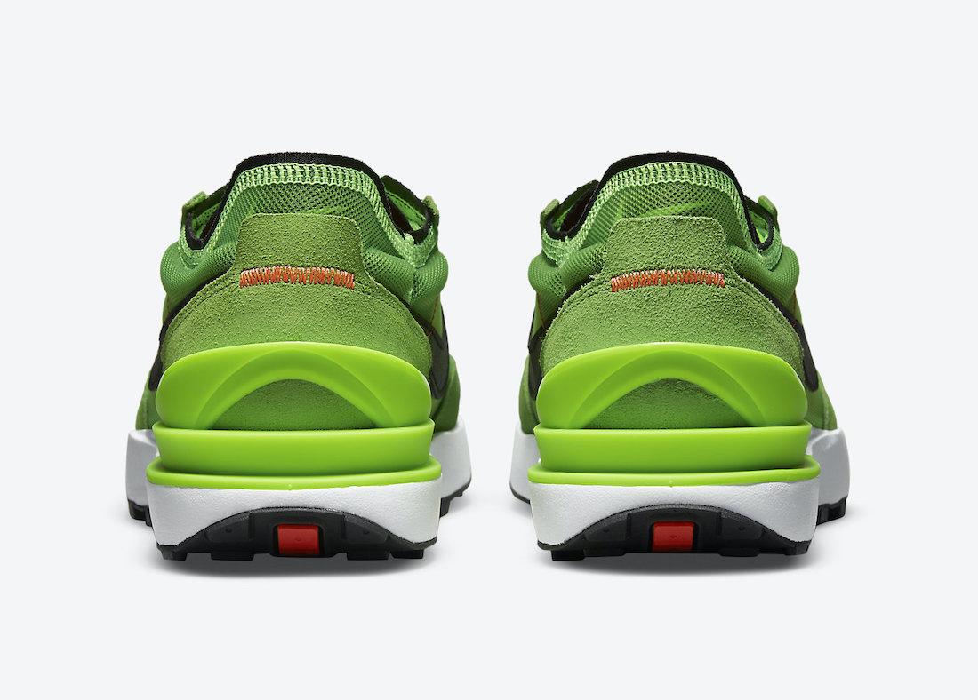 华夫, Swoosh, Nike Waffle One, Electric Green, Black