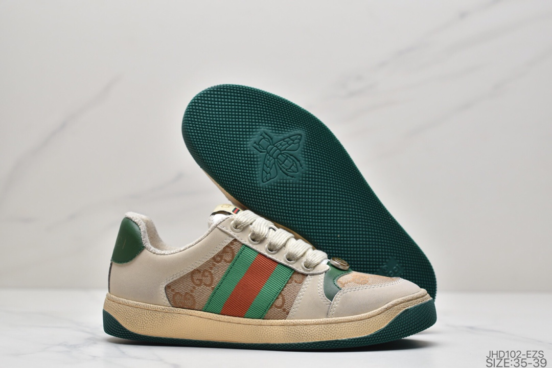 板鞋, 古驰小脏鞋, 古驰, 做旧, Gucci