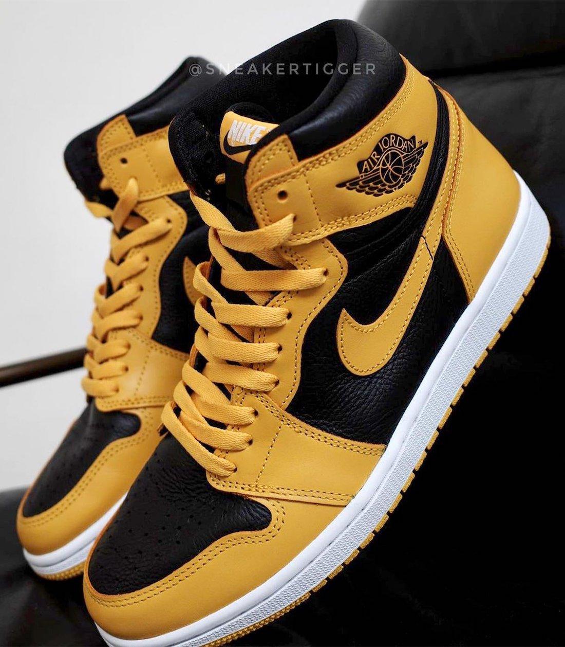 """运动鞋, zsneakerheadz, Swoosh, Nike Air, Jordan Brand, Jordan, Black, Air Jordan 1 High OG"""" Pollen"""", Air Jordan 1, Air Jordan"""