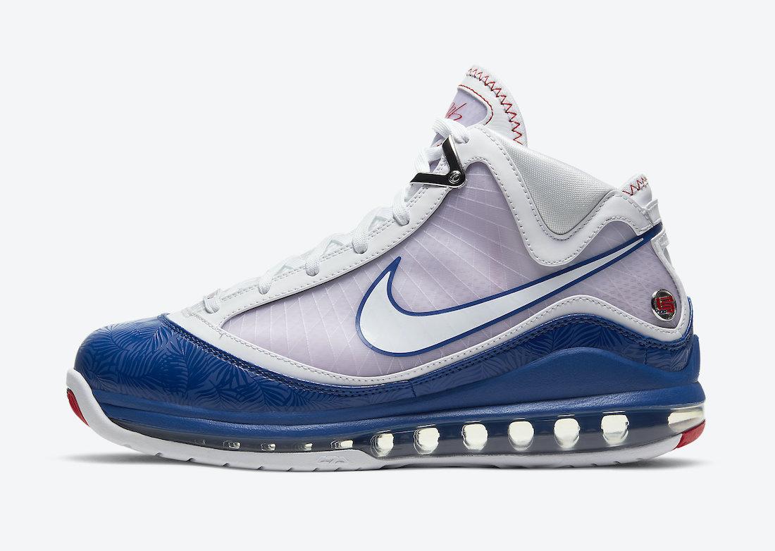 勒布朗·詹姆斯, Nike LeBron 7 Baseball Blue, Nike LeBron 7, LeBron 7, LeBron 18, James, Baseball Blue