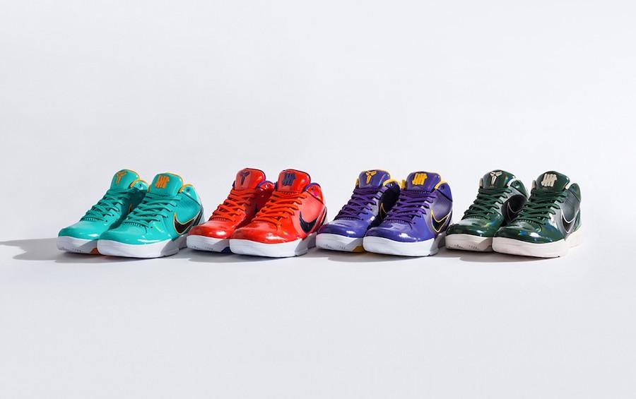 Zoom Air, Zoom, Undefeated x Nike Kobe 4 Protro, Nike Kobe 4, Kobe Bryant, Kobe 4, Kobe