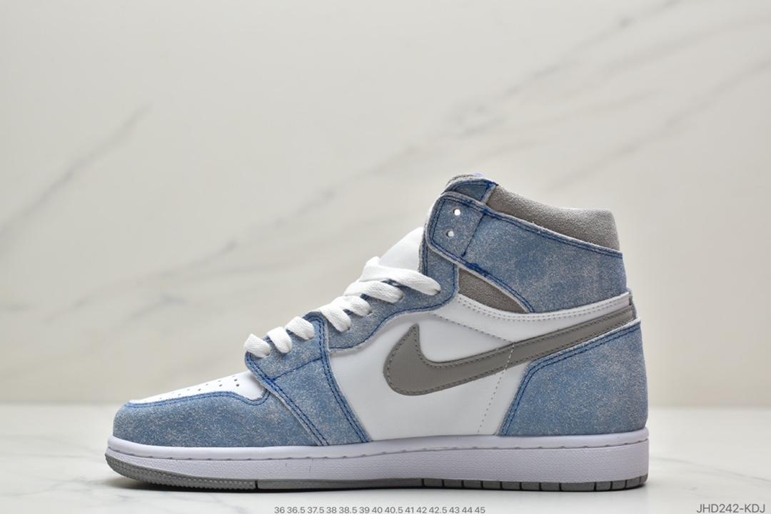 高帮, 篮球鞋, 水洗蓝雾霾蓝, 文化篮球鞋, Nike Air, Jordan, HYPER ROYAL, Air Jordan 1 Retro High OG, Air Jordan 1, Air Jordan