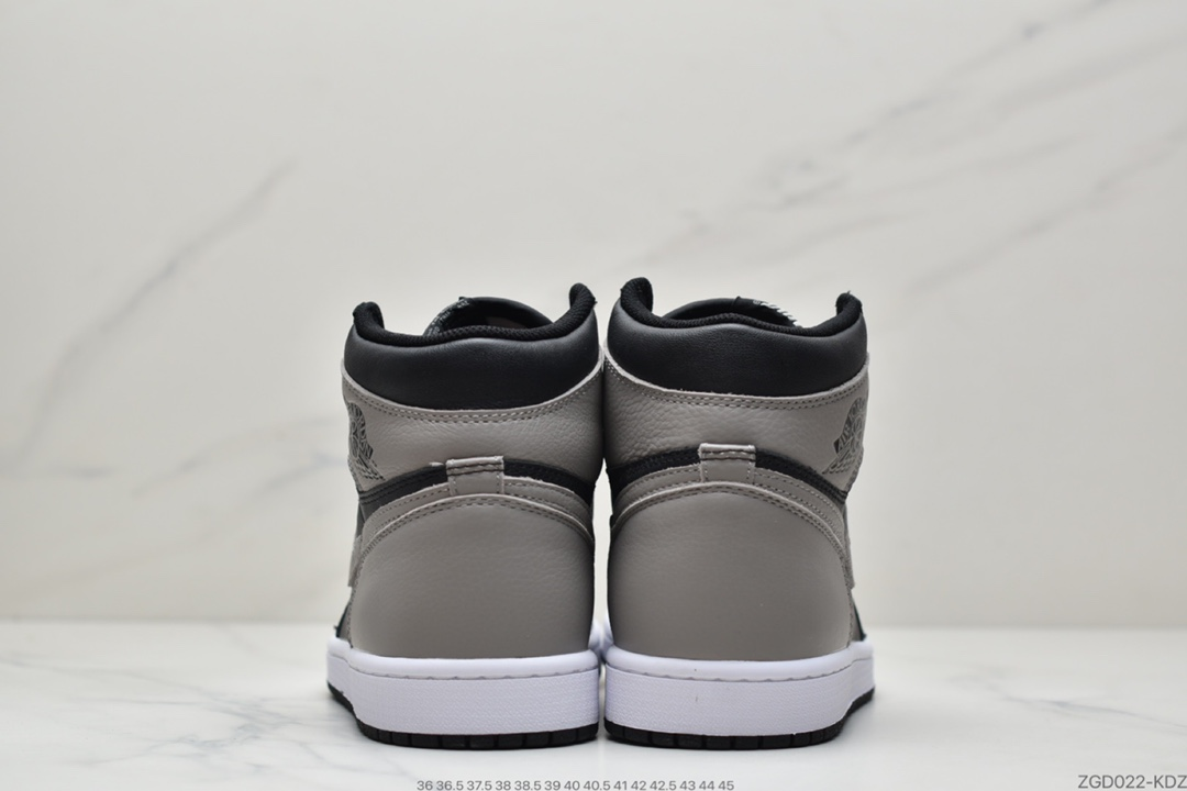 "高帮, 篮球鞋, 影子灰, Jordan, Air Jordan 1 Retro High OG ""Shadow"", Air Jordan 1 Retro High OG, Air Jordan 1, Air Jordan"