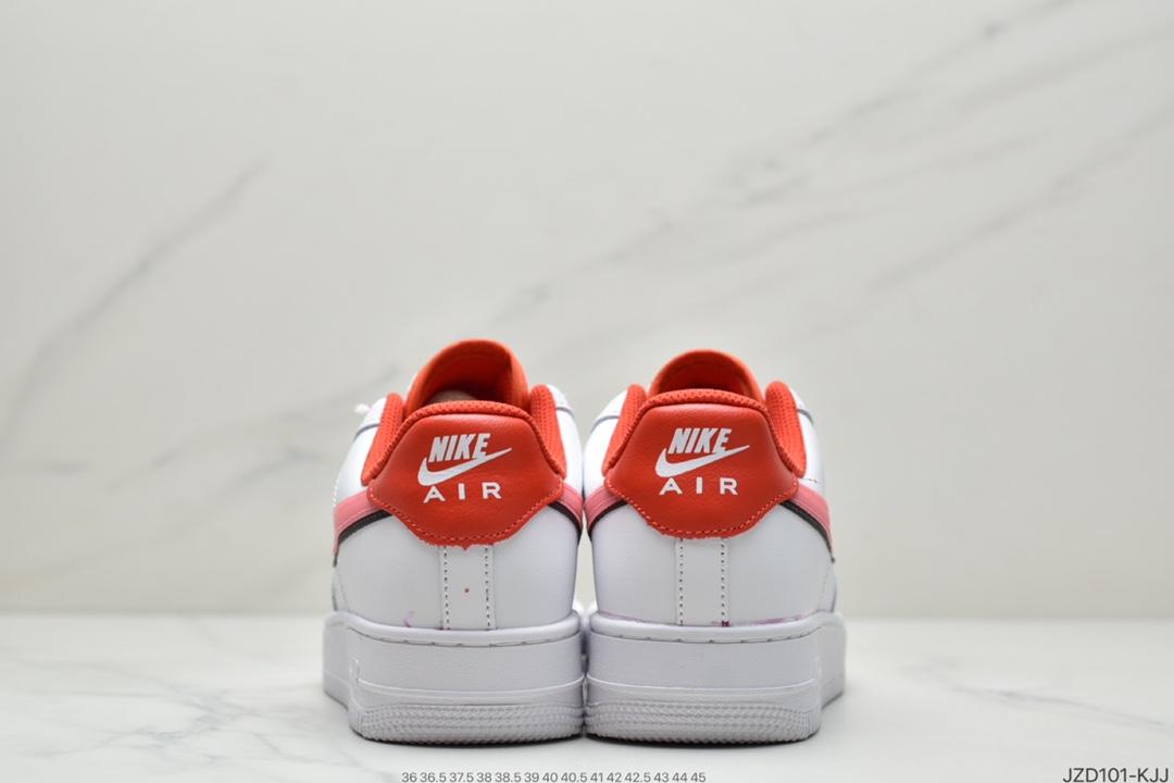运动板鞋, 空军一号, 板鞋, Nike Air Force 1, Nike Air, Black, Air Force 1'07 GS, Air Force 1