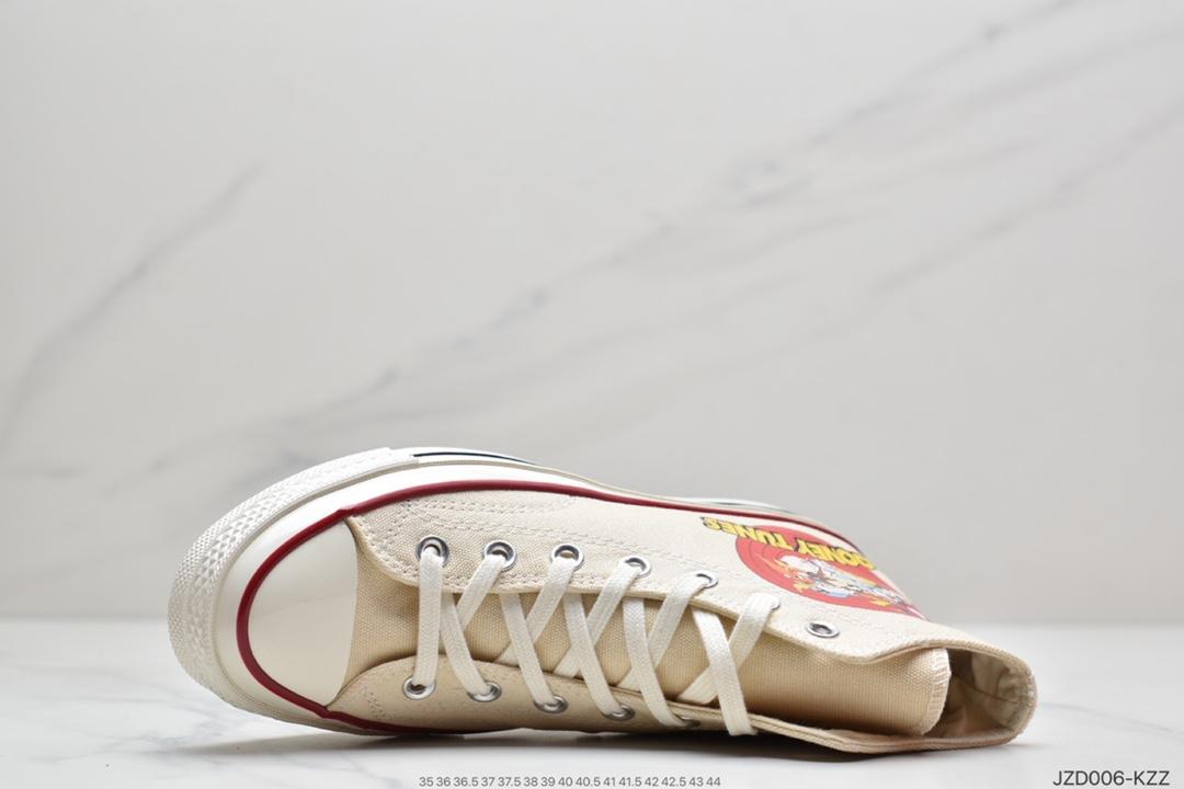 高帮, 帆布鞋, 匡威, converse all star, 1970S