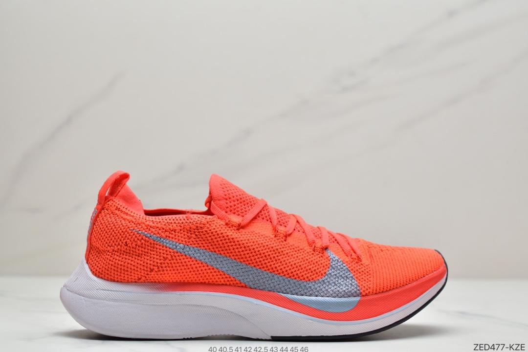 马拉松, 运动跑鞋, 跑鞋, ZoomX, Zoom, Swoosh, Nike Zoom Vaporfly Flyknit 4%, Flyknit, AJ3